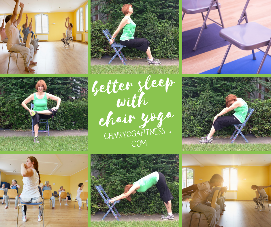 Better sleep with Chair Yoga
