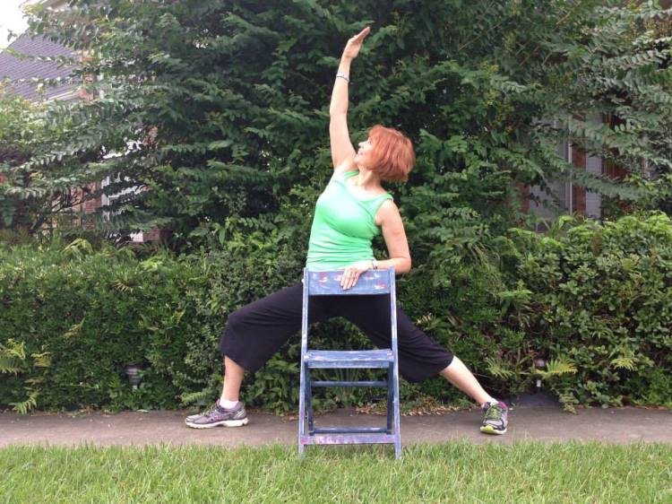 Chair Yoga Fitness with Gail Pickens-Barger