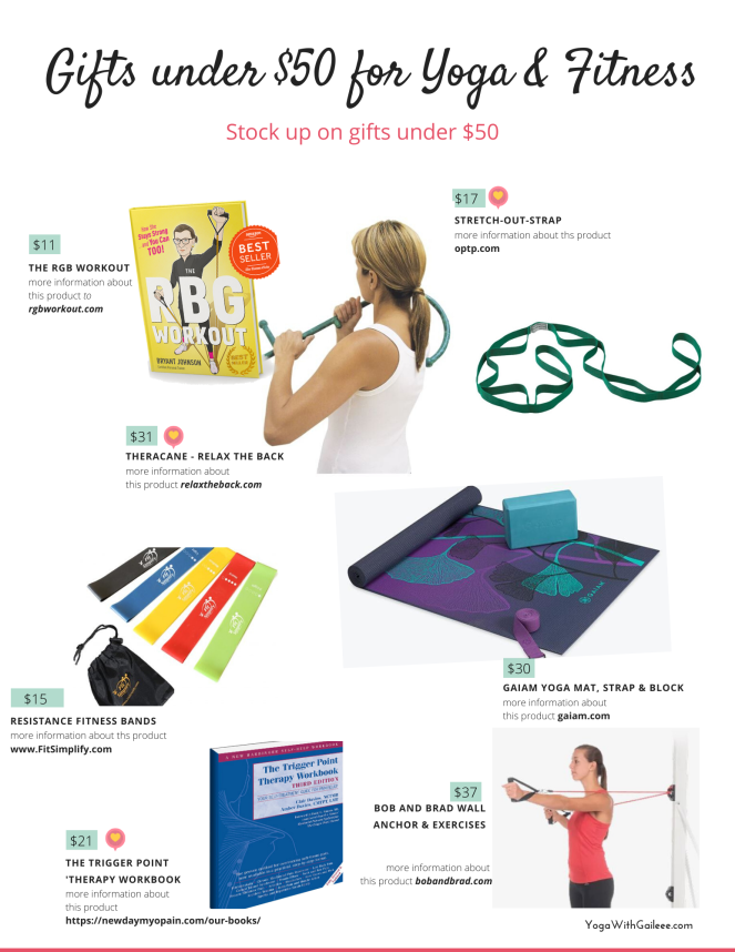 Yoga Gift Guide for under $50