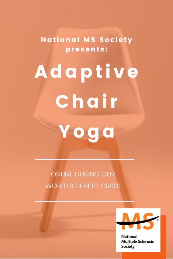 Adaptive Yoga for National MS Society Online