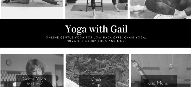 Yoga with Gail Pickens-Barger. Online during our world's health crisis.