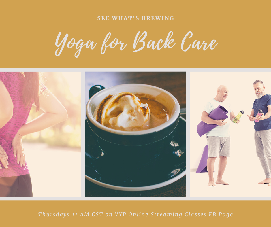 For the cost of a special coffee and a half, you'd have access to a live streaming  yoga class or a video to do to start addressing your issues with your tissues ==> https://paypal.me/Yogawithgail/10   You're worth it!